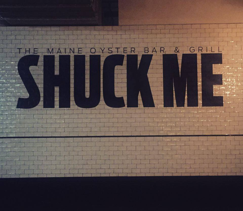 Shuck me! At the Maine Bar & Grill