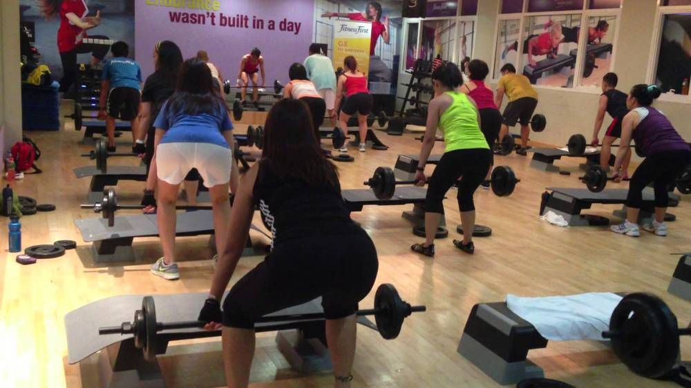 Fitness First Body Pump Dubai